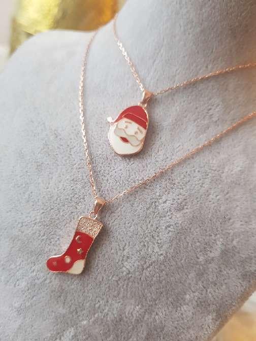 Imagen Colgantes de plata Navidad