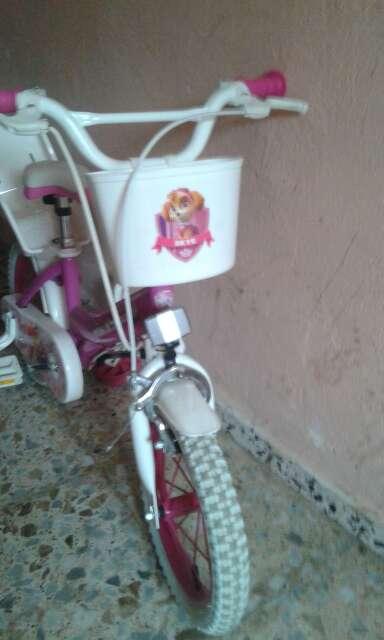 Imagen producto Bicicleta de niña patrulla canina 2