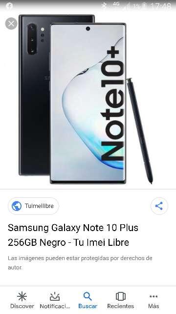 Imagen Samsung Galaxy Note 10 Plus 256g