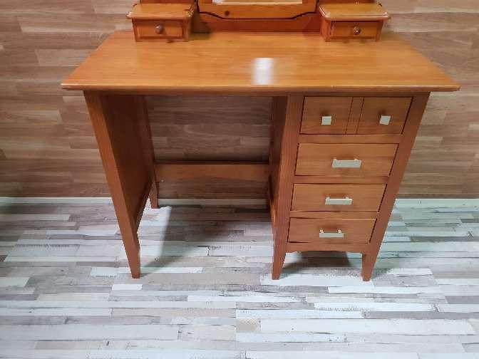 Imagen producto Mesa escritorio con espejo tocador  6