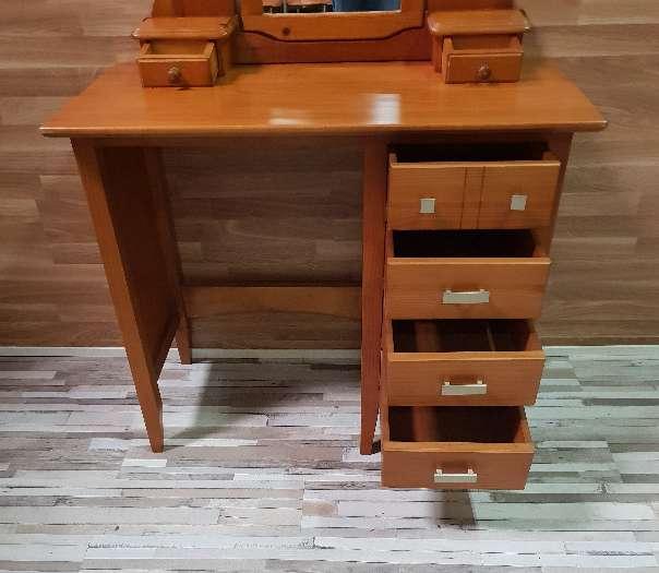 Imagen producto Mesa escritorio con espejo tocador  5