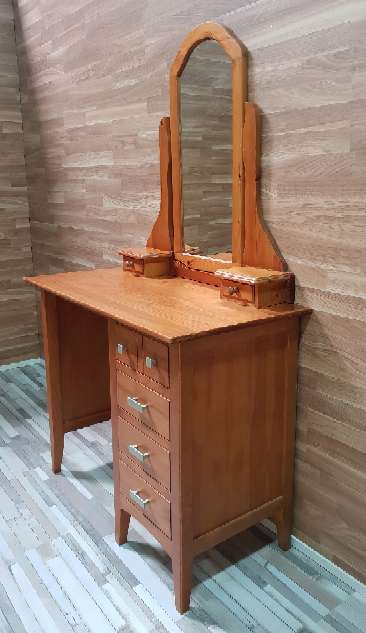 Imagen producto Mesa escritorio con espejo tocador  4