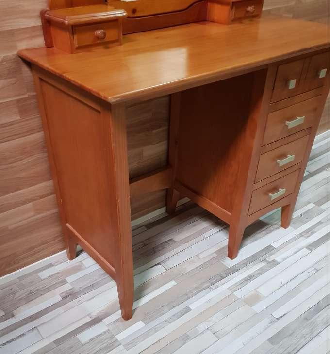 Imagen producto Mesa escritorio con espejo tocador  2