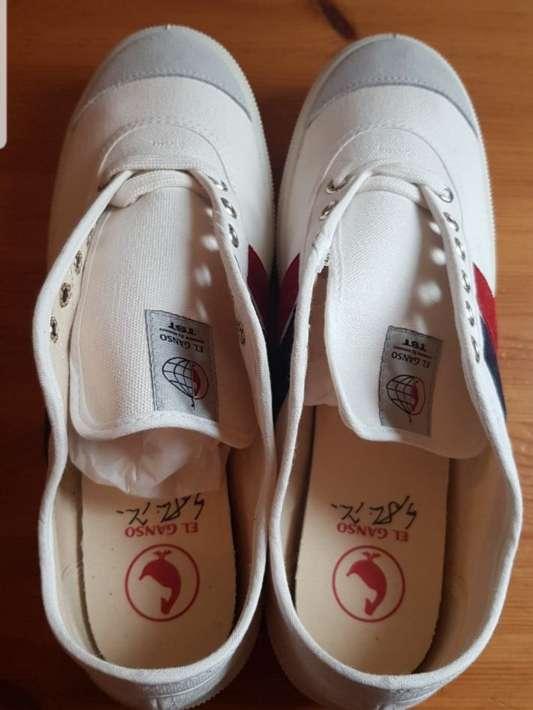 Imagen producto Zapatillas El Ganso blancas n 42 3