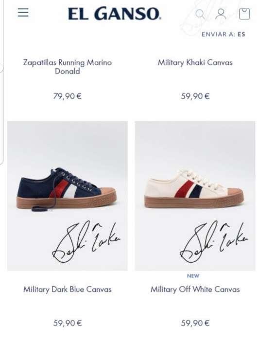 Imagen producto Zapatillas El Ganso blancas n 42 4