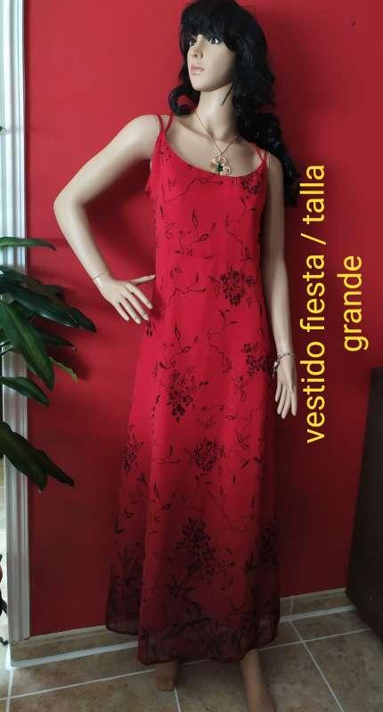 Imagen Vestido Fiesta / talla Grande
