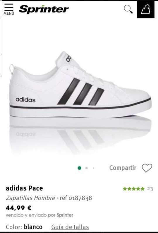 Imagen producto Zapatillas Adidas blancas n 42 4