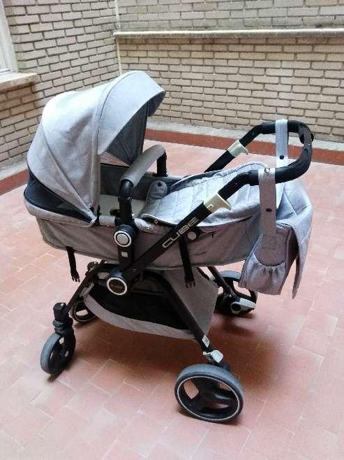Imagen Cochecito bebé 2 piezas.