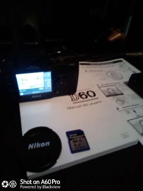 Imagen producto Cámara Nikon D60 con Objetivo 18:55mm 3