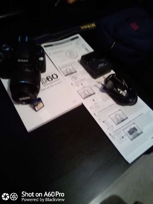 Imagen producto Cámara Nikon D60 con Objetivo 18:55mm 5