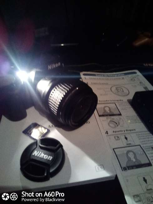 Imagen producto Cámara Nikon D60 con Objetivo 18:55mm 2