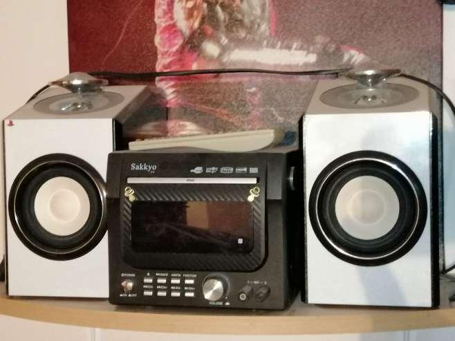 Imagen producto Radio mini cadena con CD USB DVD MP3 4