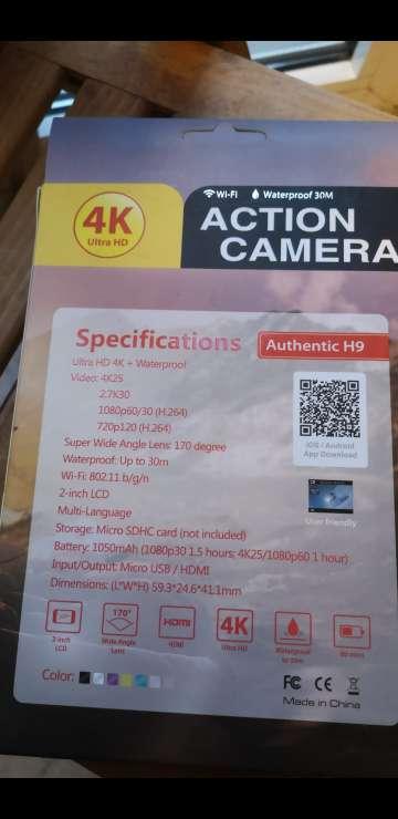 Imagen producto Cámara 4k estilo go pro. 3