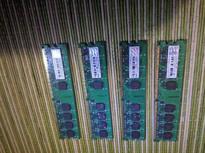 Imagen Ram 4 DIMM 1Gb 800Mhz