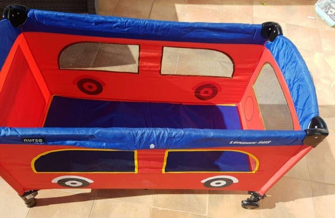 Imagen producto Cuna de viaje London Bus 1