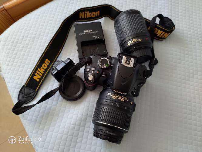 Imagen Cámara Réflex Nikon D3200