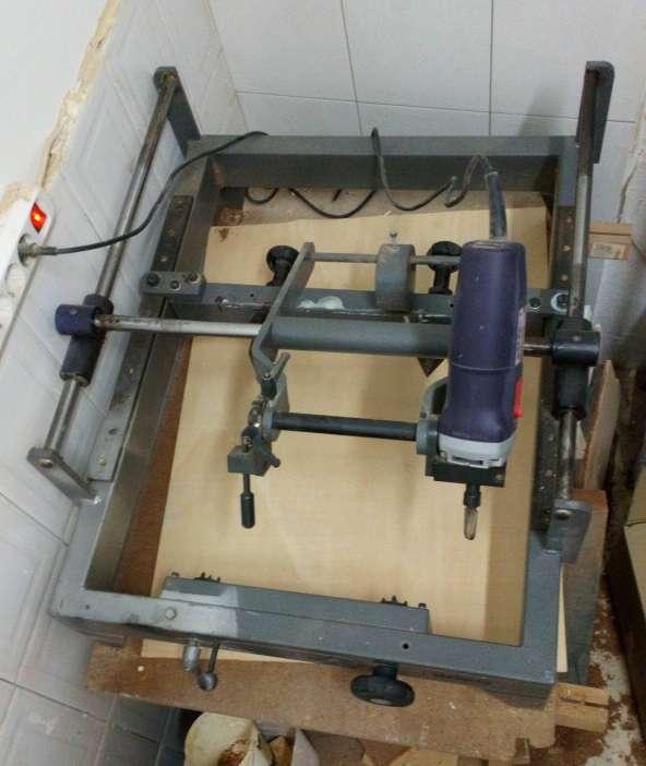 Imagen Pantografo para maderas 3D