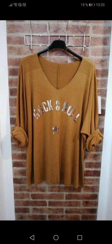 Imagen producto Blusa rock&roll 2