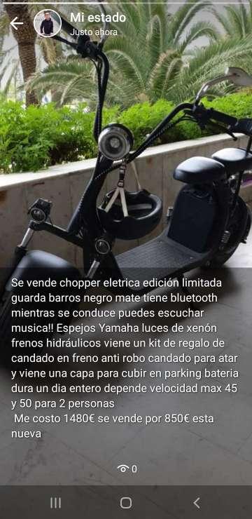 Imagen Chopper electrica