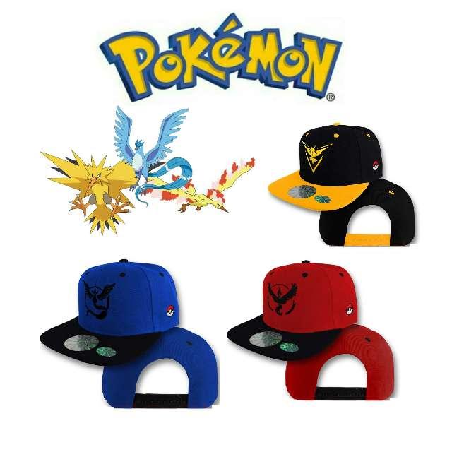 Imagen Gorra De Pokémon, Articuno Zapdos y Moltres Nueva