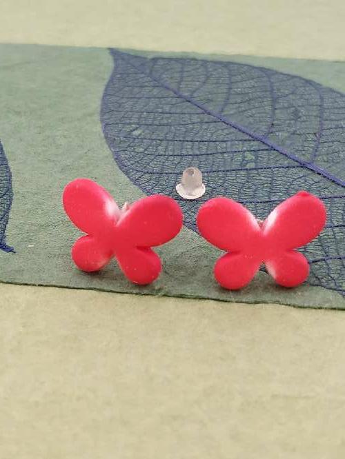 Imagen envío gratis, pendientes mariposa.