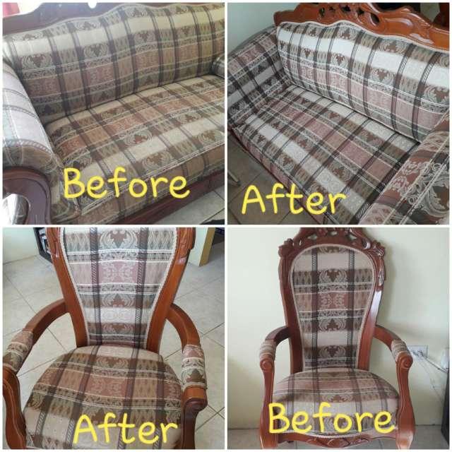 Imagen producto Limpieza de sofá sillas y tapicería a domicilio  2