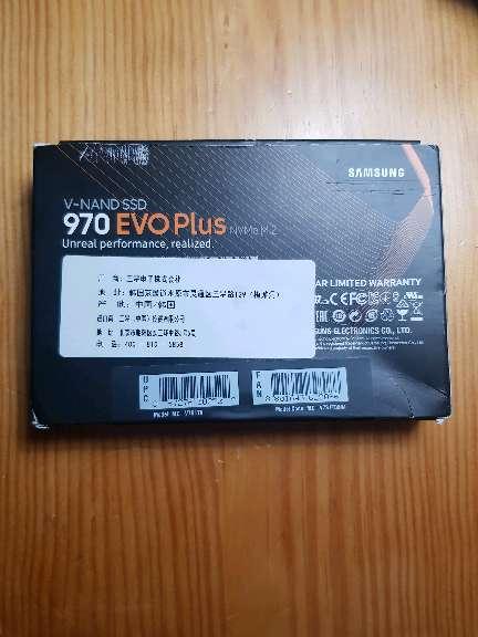 Imagen producto Disco ssd nvme m.2 - 1tb samsung 970 evo plus  2