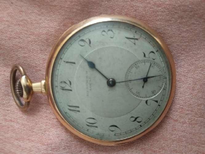 Imagen reloj bolsillo oro 18k berthoud locle