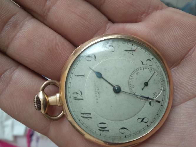 Imagen producto Reloj bolsillo oro 18k berthoud locle 2