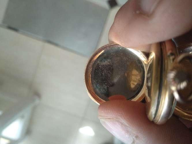 Imagen reloj remontoir bolsillo oro 18k