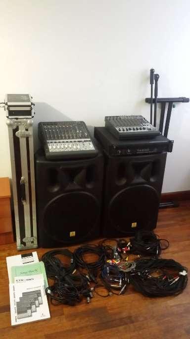Imagen producto Equipo de Sonido Profesional 1