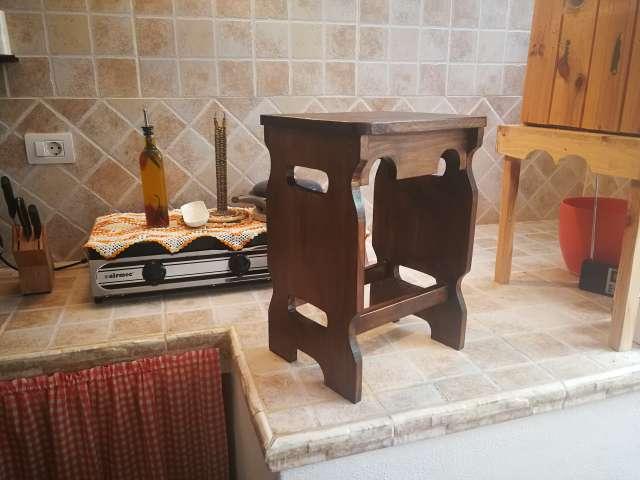 Imagen Banquitos de madera