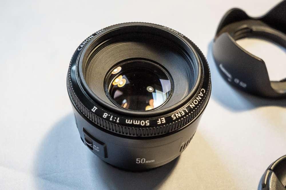 Imagen Canon 50mm 1.8f