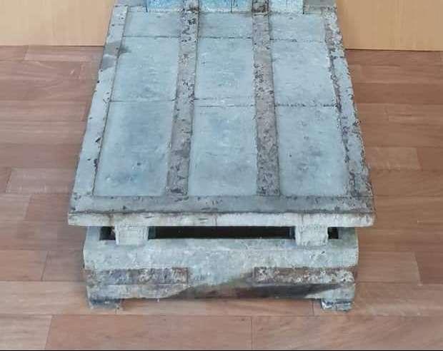 Imagen producto Bascula antigua madera 4
