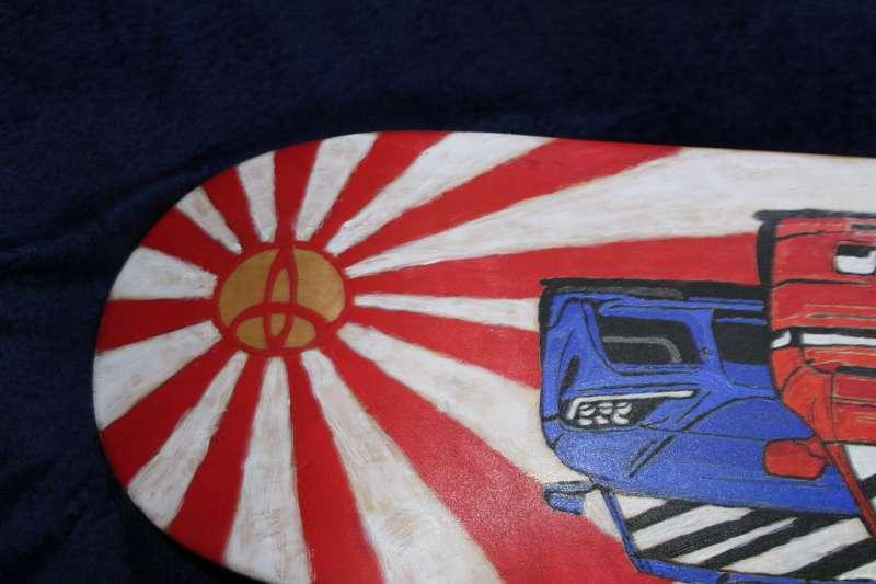 Imagen producto Tabla de SKATE pintada a mano 3