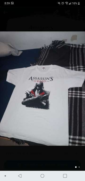 Imagen Camiseta Assassins Creed