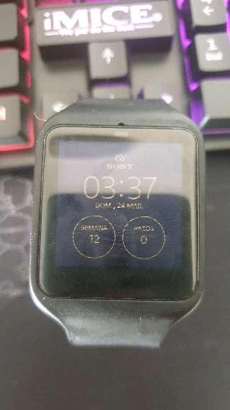 Imagen smartwatch sony 3 MD:SMR50 Negro