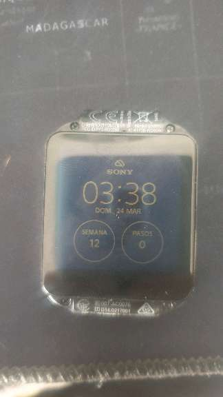 Imagen producto Smartwatch sony 3 MD:SMR50 Negro 3