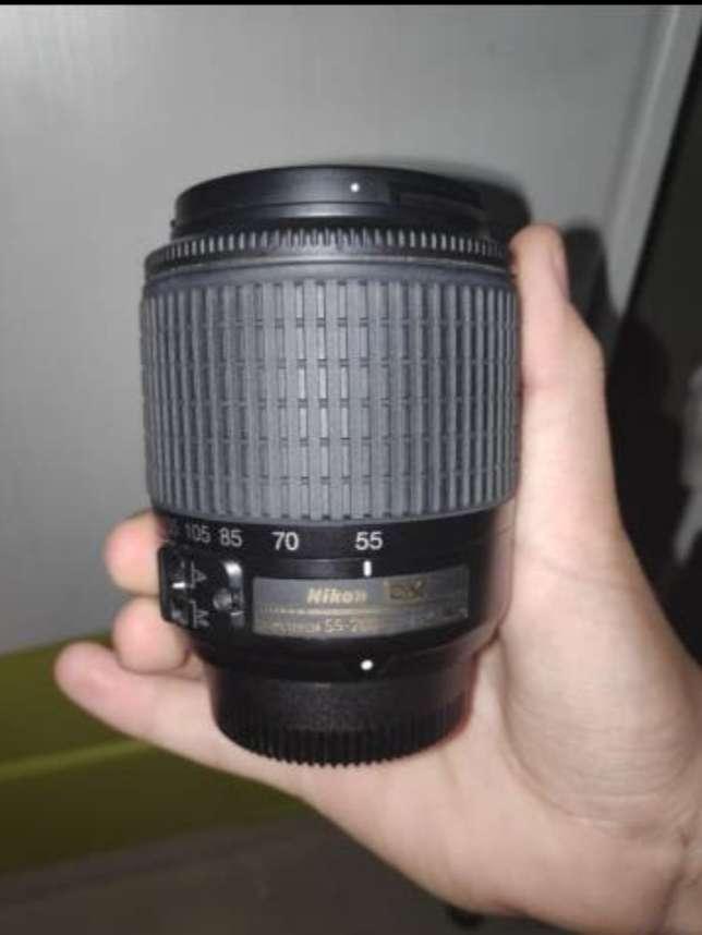 Imagen  Objetivo Nikon AF-S DX VR 55-200mm