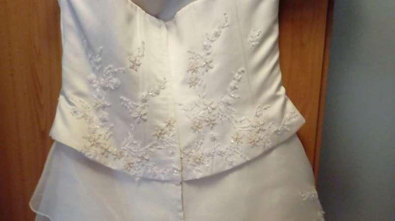 Imagen producto Vestido novia estrenado una vez 9