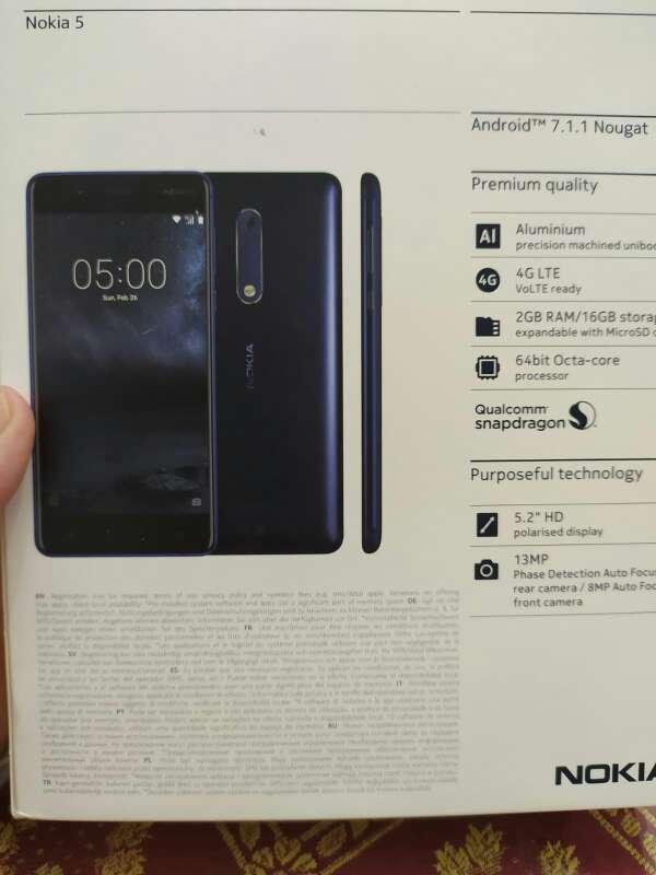 Imagen producto Nokia modelo 5 2