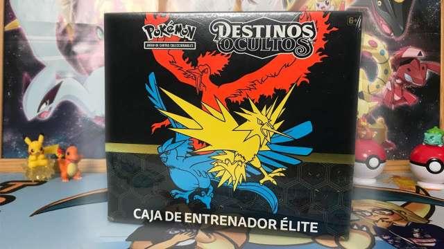 Imagen Pokemon - Caja entrenador Elite Destinos Ocultos