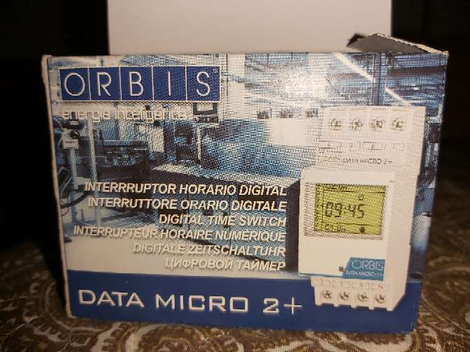 Imagen producto Interruptor orbis micro2+ 2