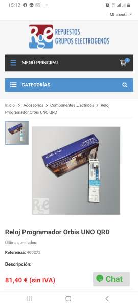 Imagen producto Interruptor orbis uno QRD  1