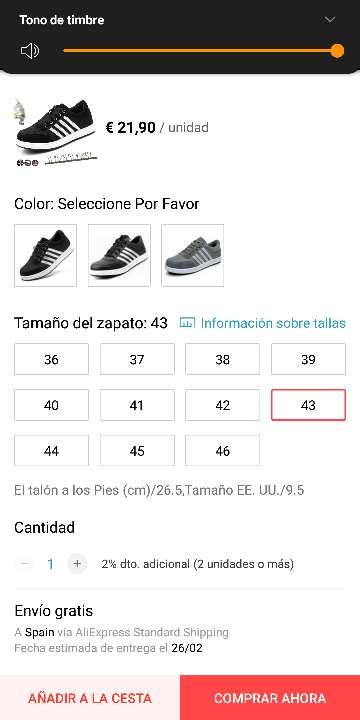 Imagen producto Zapato deportivo 3