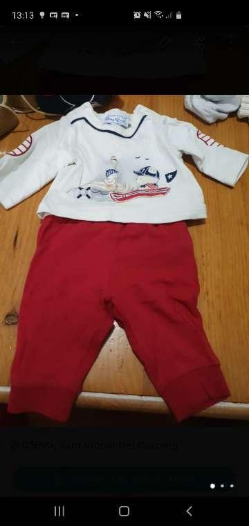 Imagen conjuntos mayoral 0.1 meses y 0.2 meses zapatos d bebe