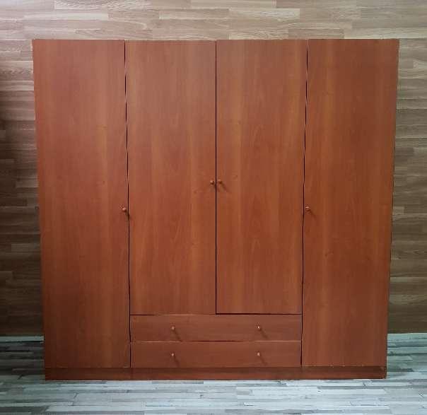 Imagen producto Armario  cuatro puertas dos metros 1