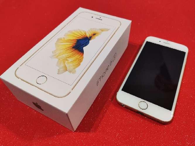 Imagen iPhone 6s ORO 64GB ORIGINAL + 3 fundas + 3 cristales templados de regalo