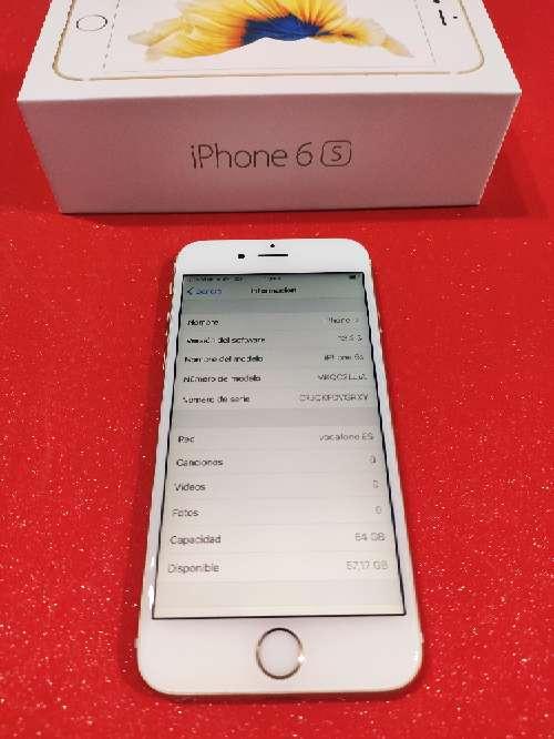 Imagen producto IPhone 6s ORO 64GB ORIGINAL + 3 fundas + 3 cristales templados de regalo 4