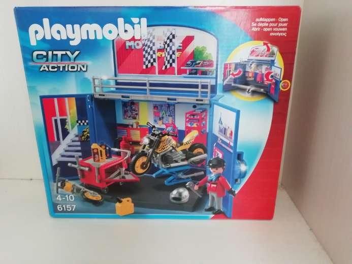 Imagen taller de playmobil